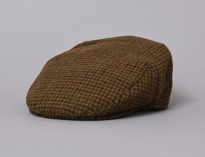Cap Adjustable Barbour Crieff Cap Dark Brown Club Check Barbour
