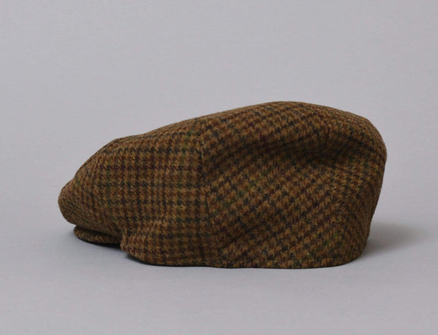 Barbour Crieff Cap Dark Brown Club Check