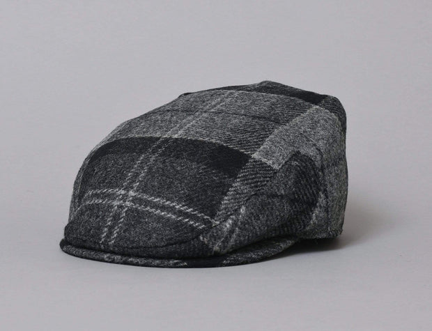 Barbour Moons Tweed Cap Black / Grey tartan