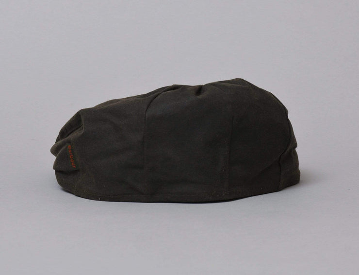 Cap Adjustable Cheviot Tartan Cap Olive Barbour