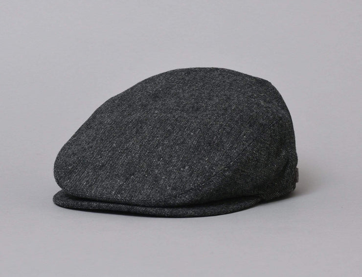 Barbour Barlow Flat Cap Dark Grey