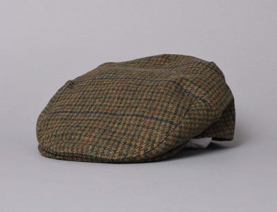 Cap Sixpence Barbour Crieff Cap Olive Check Barbour