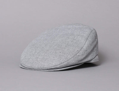 Barbour Hetton Flat Cap Light Grey