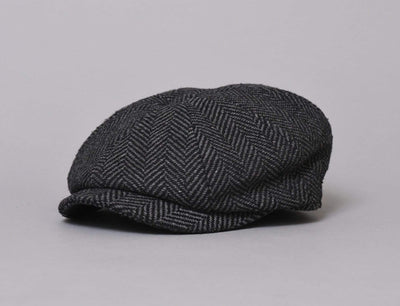 Barbour Mixed Tweed Bakerboy Herringbone