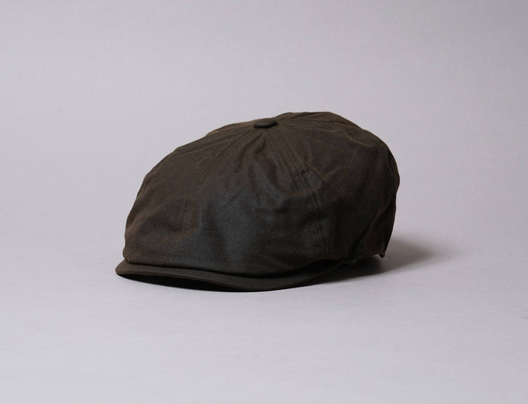 Cap Sixpence Barbour Portland Sixpence Olive Barbour