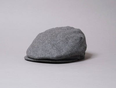 Cap Sixpence Barbour Redshore Flat Cap Grey Barbour