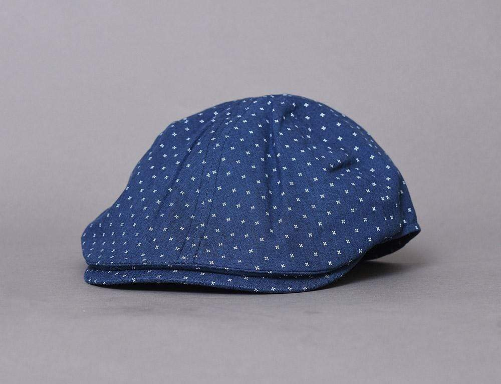 Barbour Roker Flat Cap Navy
