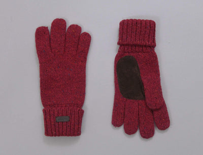 Barbour Whitfield Glove Red