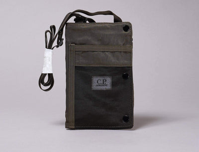 Accessories Bag C.P. Company Utility Pouch Nylon Garment Dyed Ivy Green C.P. Company Utility Pouch / Black / One Size