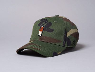 WL Cee Love Curved Cap Woodland Camo