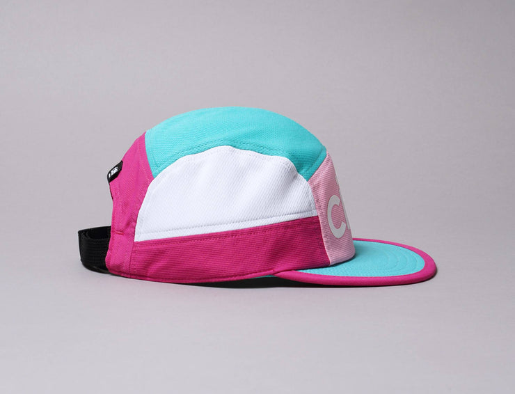 Cap 5-Panel Ciele Cap GOCap Century Terazzo Teal/Pink Ciele 5-Panel / Green / One Size