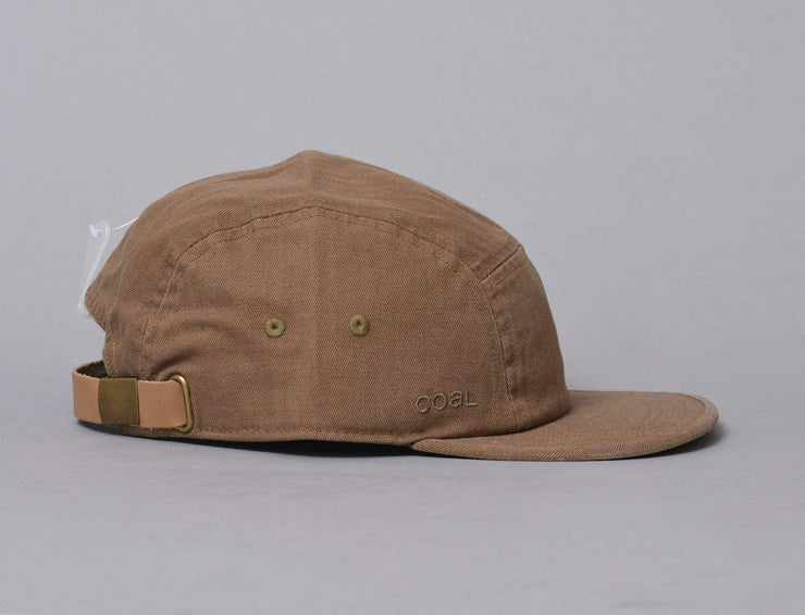 Cap Adjustable The Edison Light Brown Coal Adjustable Cap Cap / Brown / One Size