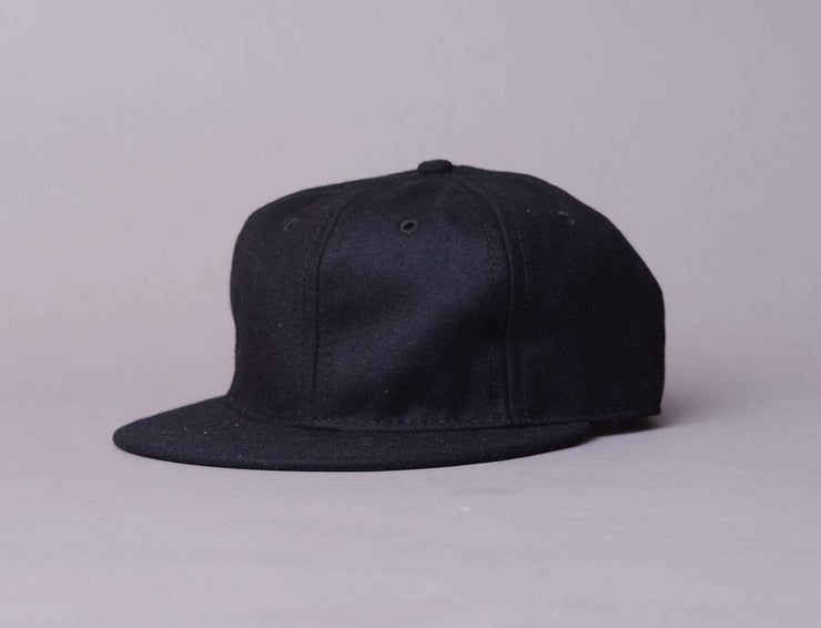 Cap Adjustable Ebbets BallCap - Blank Black Ebbets Field Flannels Adjustable Cap Cap / Black / One Size