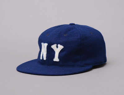 Cap Adjustable Ebbets BallCap - New York Black Yankees 1936 Ebbets Field Flannels