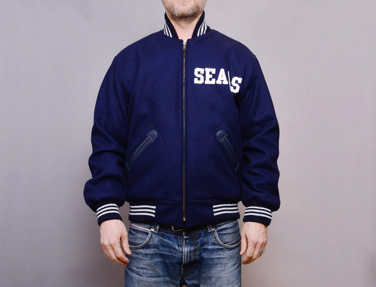 Clothing Jacket Ebbets Wool Authentic Jacket - San Francisco Seals 1955 Ebbets Field Flannels