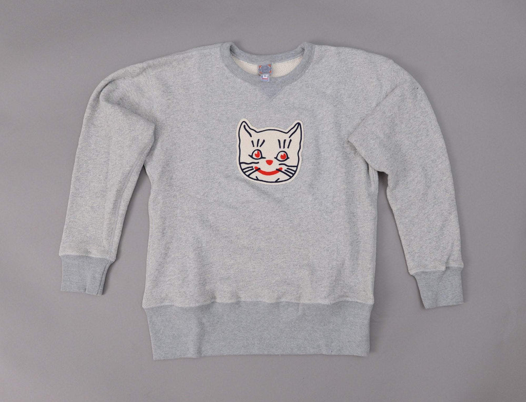 Ebbets Crewneck Sweat Kansas City Katz Heather Grey