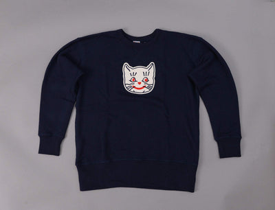 Clothing Sweater Ebbets Crewneck Sweat Kansas City Katz Navy Ebbets Field Flannels