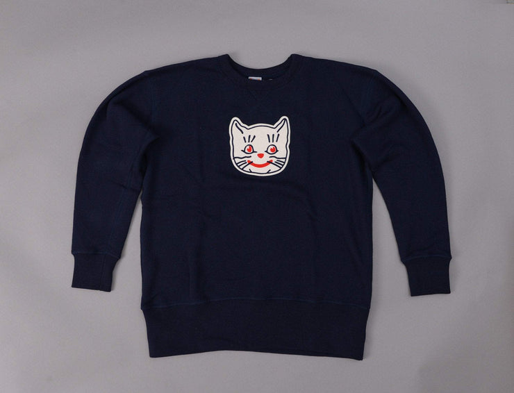 Ebbets Crewneck Sweat Kansas City Katz Navy