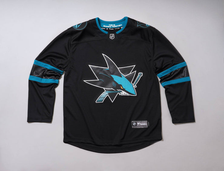 Clothing Hockey Jersey Fanatics Breakaway Jersey San Jose Sharks Fanatics