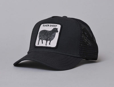 Goorin Trucker Cap Naughty Lamb Black