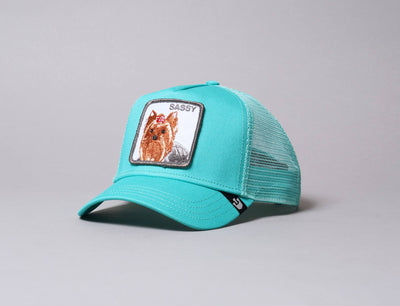 Cap Trucker Goorin Animal Farm Trucker Cap Sassy Lady Green Goorin Trucker Cap / Green / One Size