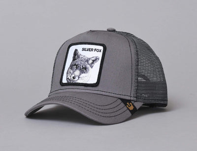 Goorin Trucker Cap Silver Fox Grey