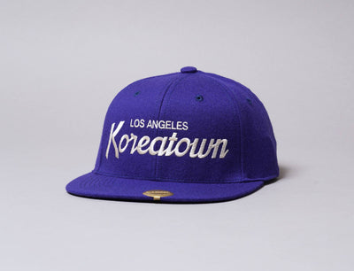 Hood Snapback Cap The DCT Koreatown Admiral/Ivory