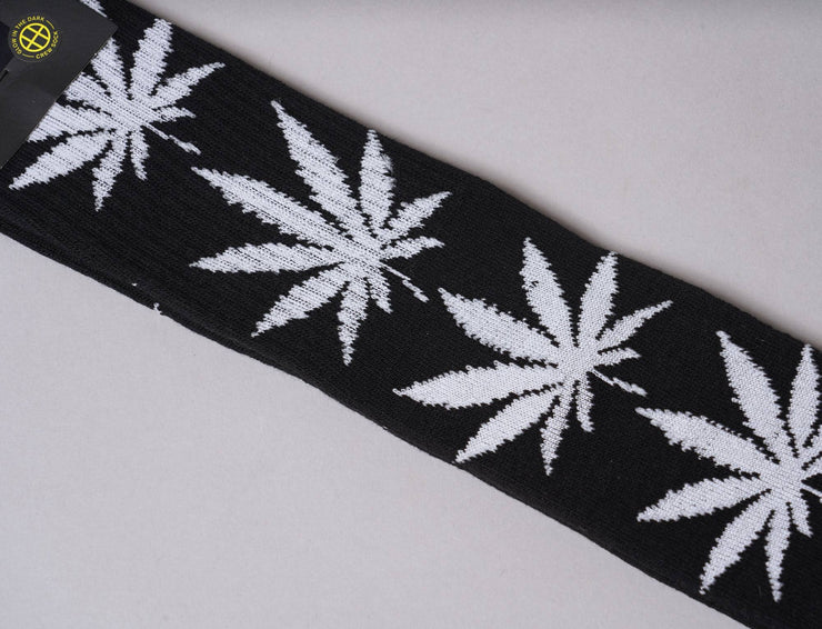 Accessories Socks HUF GLOW PLANTLIFE CREW SOCK BLACK Huf Socks / Black / One Size