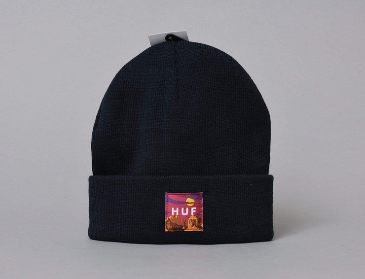 Sedona Label Beanie Dark Navy