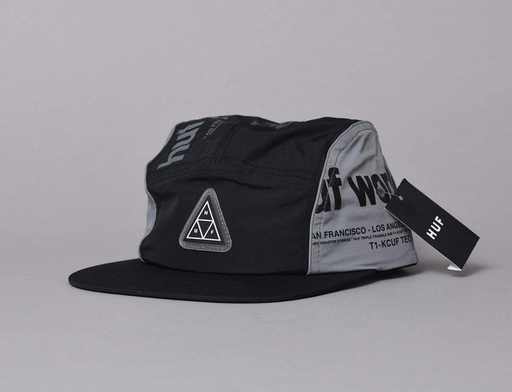 HUF POCKET VOLLEY Black