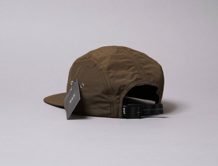 Cap 5-Panel HUF Nylon Stash Pocket Volley Olive Huf 5-Panel Cap / Green / One Size