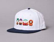 HUF South Park Kids Strapback Cap White