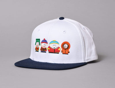 Cap Adjustable HUF South Park Kids Strapback Cap White Huf Adjustable Cap Cap / White / One Size