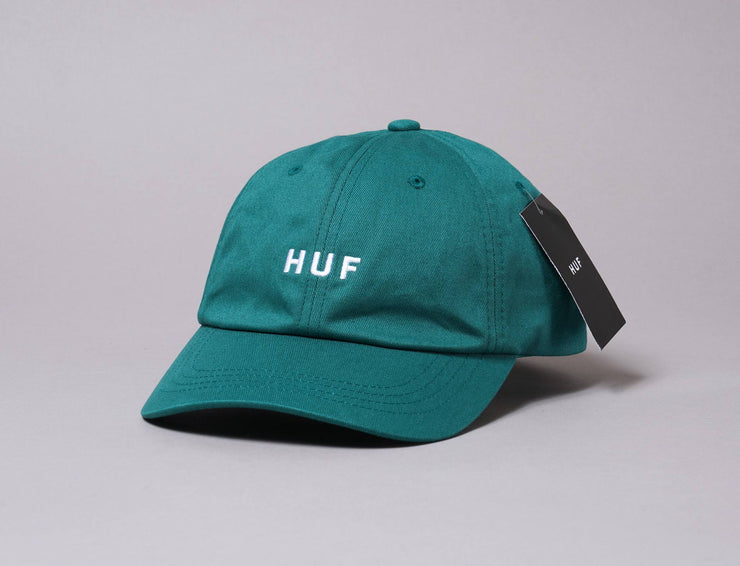 Cap Adjustable HUF ESSENTIALS OG LOGO CV HAT Sycamore Green Huf Cap Adjustable / Green / One Size
