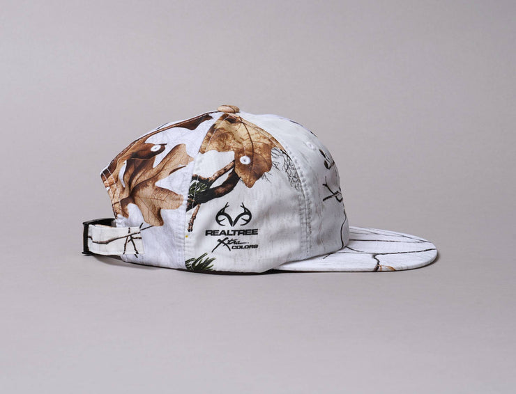 Cap Adjustable HUF Realtree 6 Panel Cap White Huf Cap Adjustable / White / One Size
