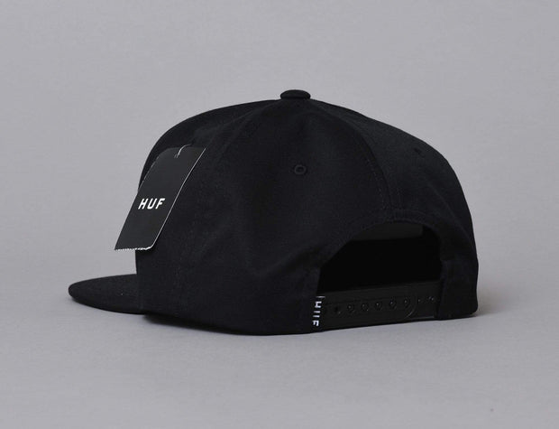 HUF Essentials Box Snapback Black