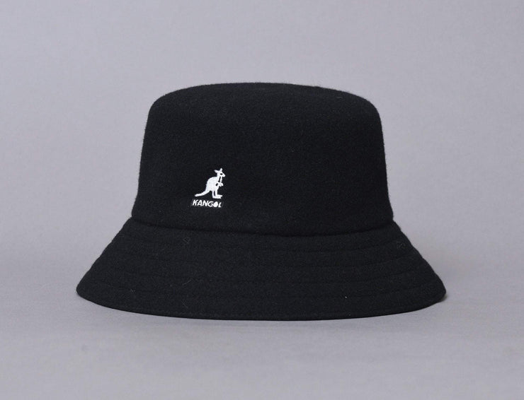 Hat Bucket Kangol Wool Lahinch Black Kangol
