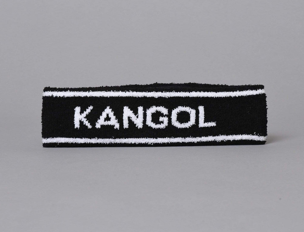 Kangol Bermuda Stripe Headband Black