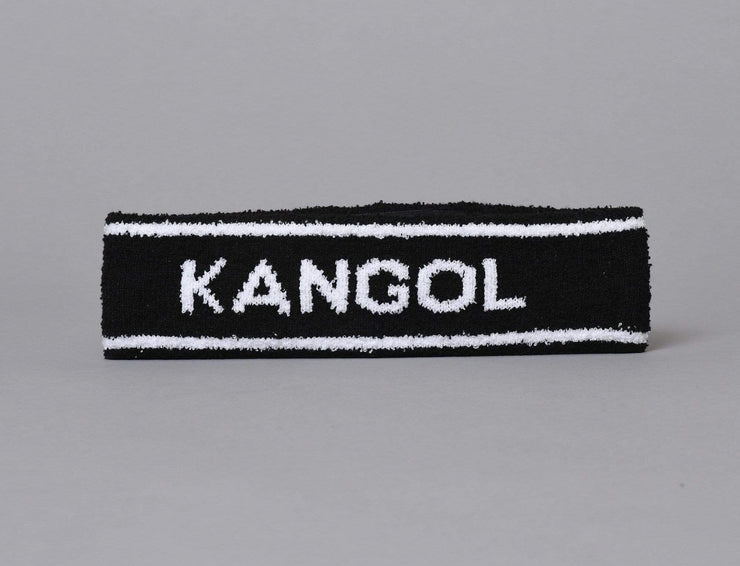 Cap Headband Kangol Headband Black Stripe Bermuda Pannebånd Kangol Headband / Black / One Size