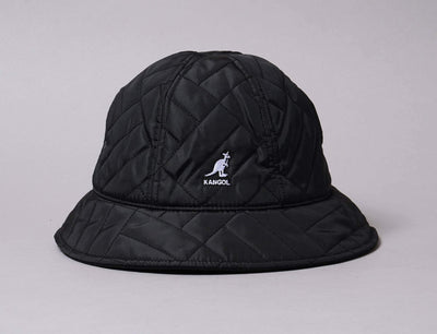 Hat Bucket Kangol Quilted Casual Black Kangol