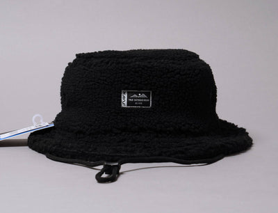 Hat Bucket Kavu Fur Ball Boonie Black Smoke Kavu Bucket Hat / Black