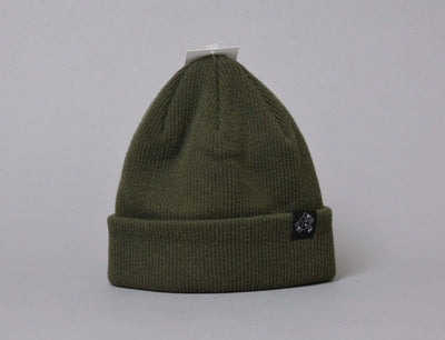 LOKK Patch Wool Beanie Green
