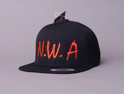Cap Snapback N.W.A. Black/Red LOKK Snapback Cap / Black / One Size