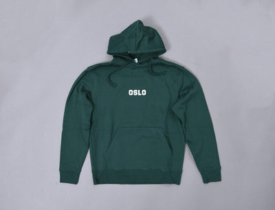 Clothing Hoodie OSLO Hoody Bottle Green LOKK