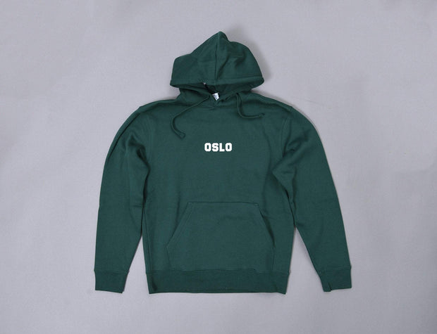 OSLO Hoody Bottle Green