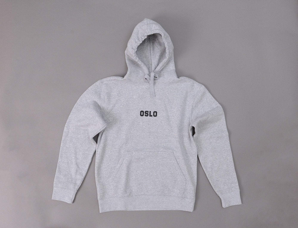 OSLO Hoody Heather Grey