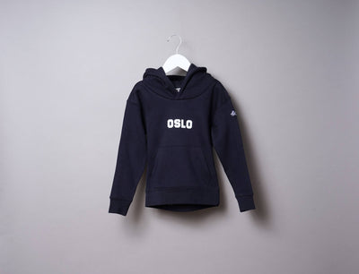 Kids OSLO Hoody Navy/White