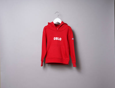 Clothing Hoodie Kids OSLO Hoody Red/White LOKK