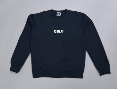 OSLO Crew Neck Sweater Navy