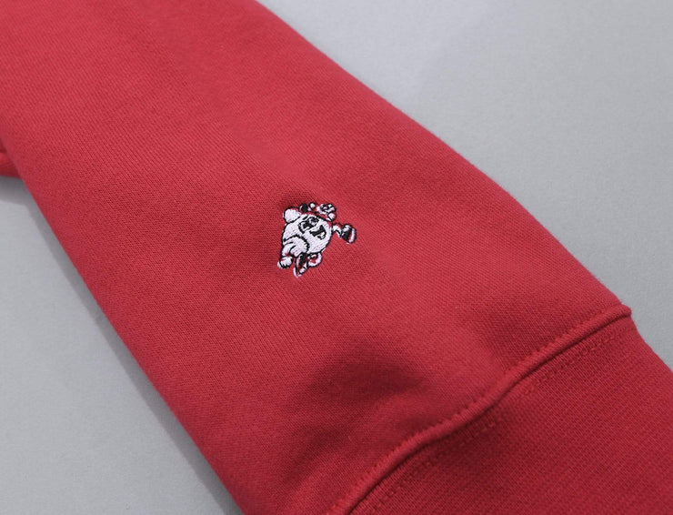 OSLO Crew Neck Sweater Red